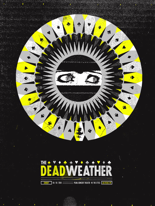 THE DEAD WEATHER / LAS VEGAS - The Silent Gaints