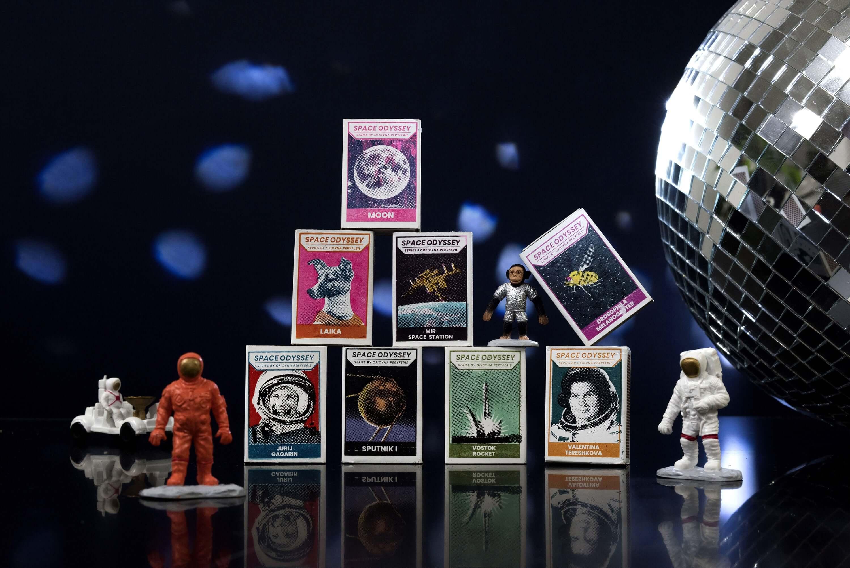 Oficyna Peryferie - Space Odyssey - Marta Tomiak - zapałki kolekcjonerskie