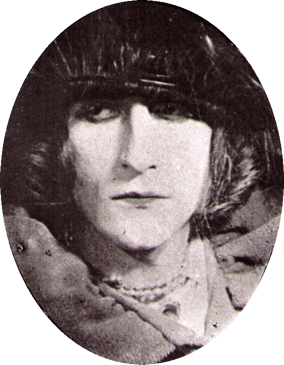Rrose Sélavy (Marcel Duchamp), 1921 photograph by Man Ray, art direction by Marcel Duchamp
