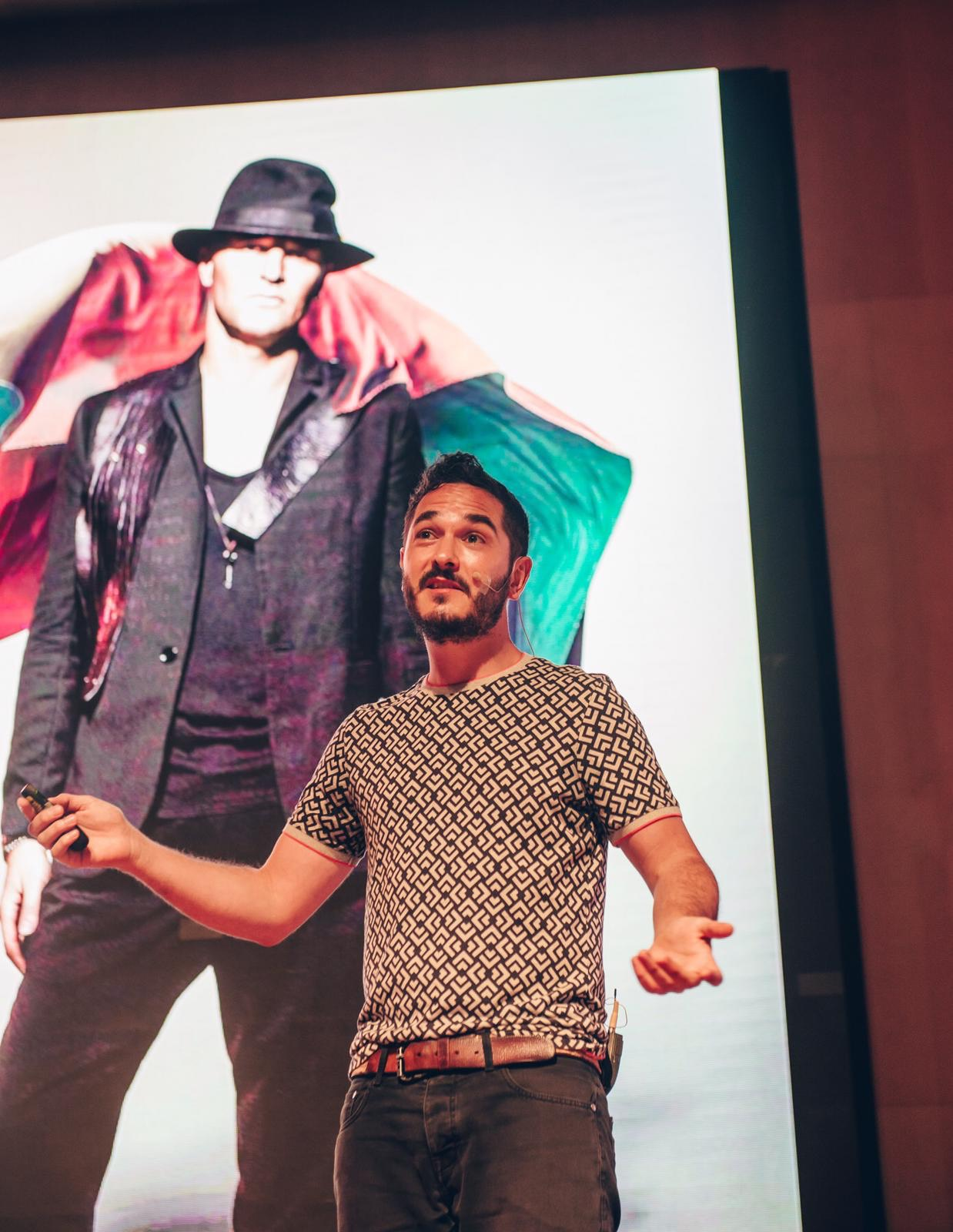 Casper Franken, Shotopop at OFFF TLV. Photo: Chris Milne