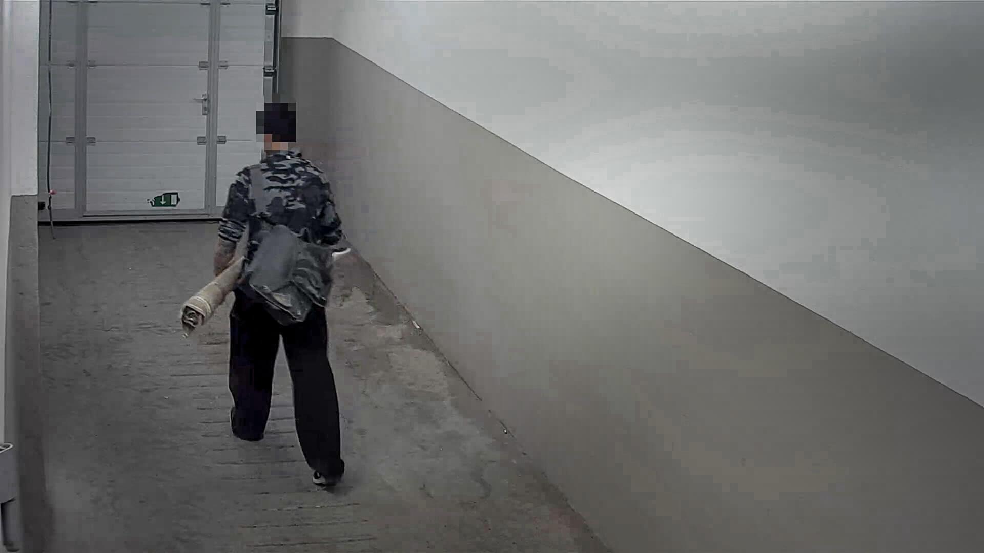 הציירת והגנב. צילום: יח״צ דוקאביב