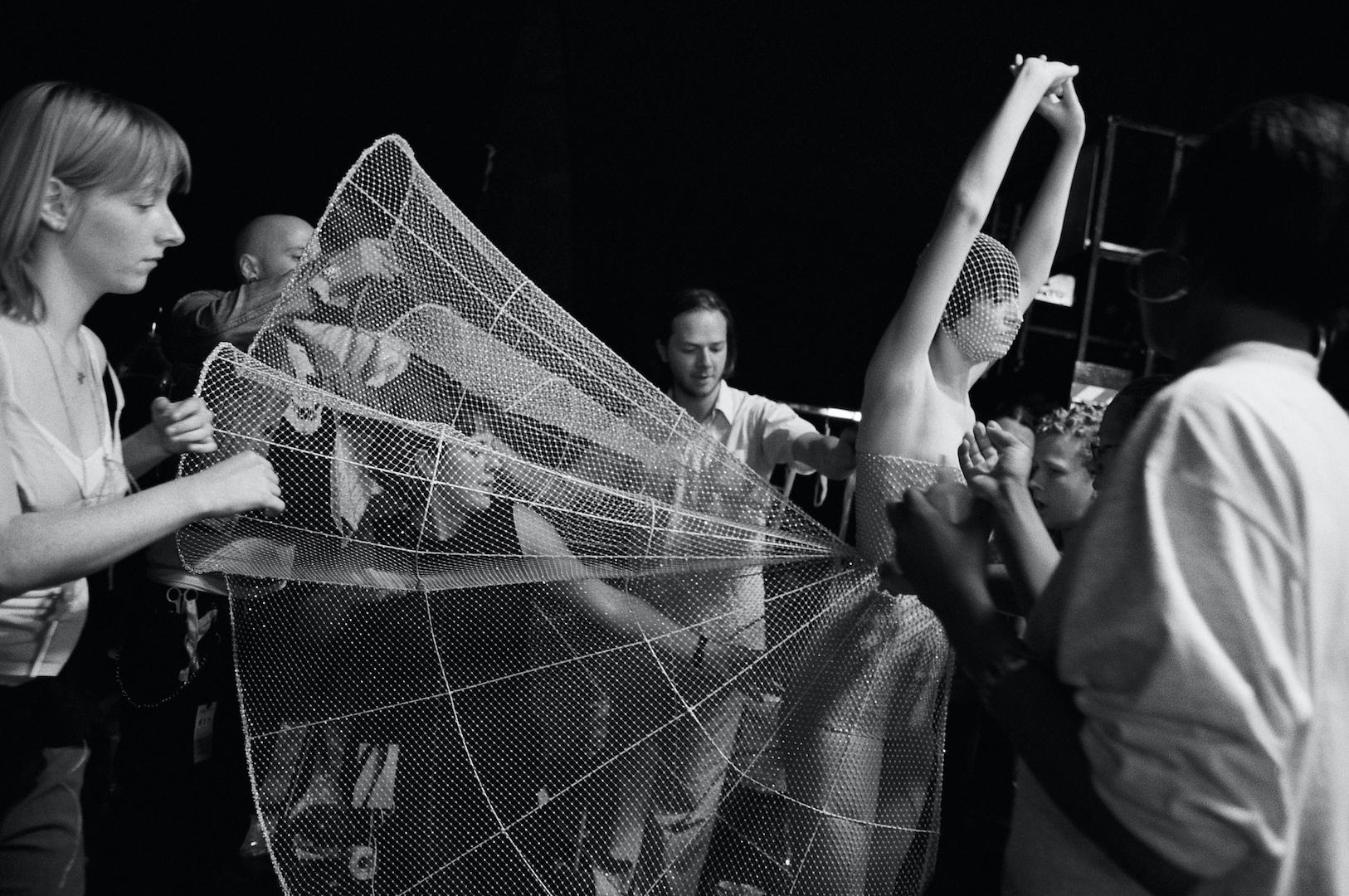 """Alexander McQueen, """"No. 13"""". Photography: Ann Ray"""