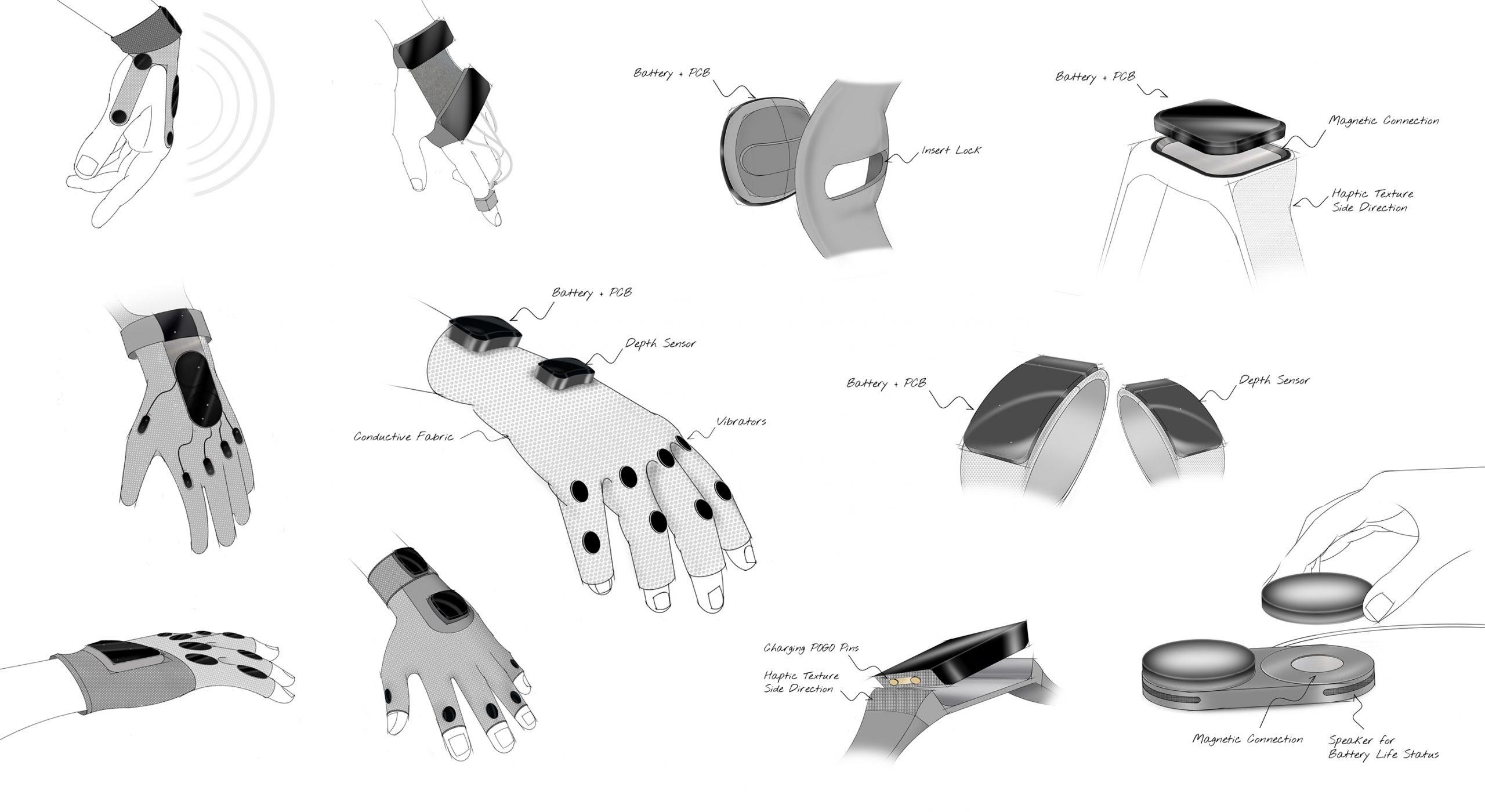 Unfolding Space. שיתוף פעולה עם Jakob Kilian