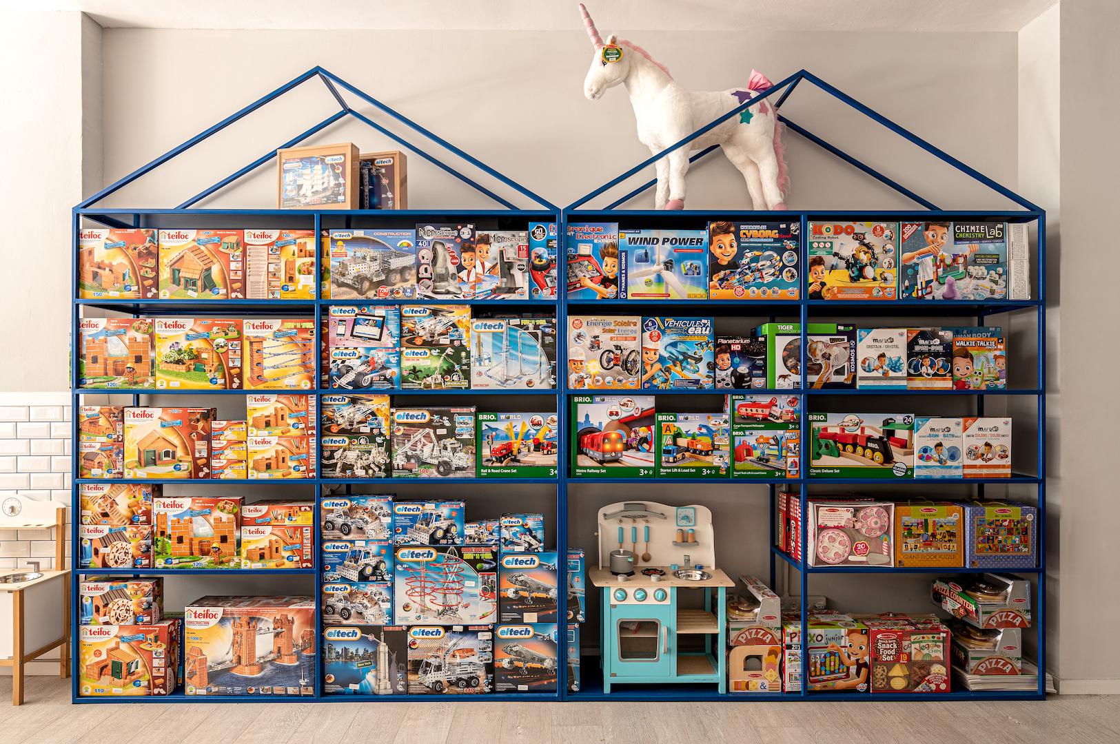 We Toys. עיצוב: סטודיו אינטו. צילום: תמיר רוגובסקי