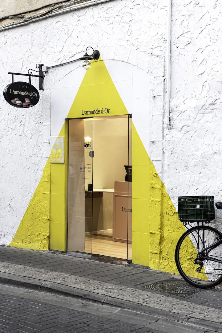 L'amande d'Or. עיצוב: סטודיו אינטו. צילום: תמיר רוגובסקי