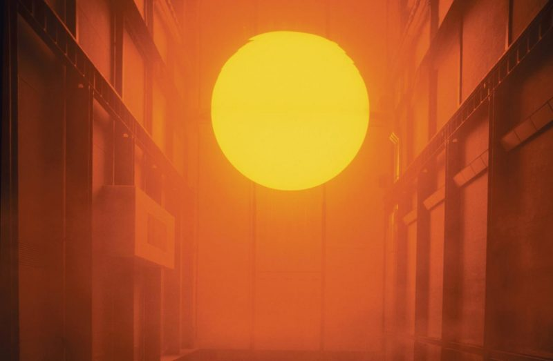The weather project, 2003. Olafur Eliasson. Photo: Tate Photography (Andrew Dunkley & Marcus Leith)